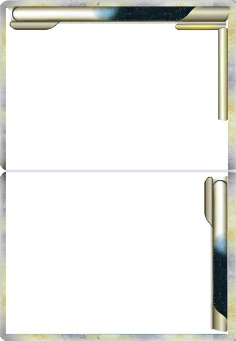 legendary card template untextured legend line card blank by the