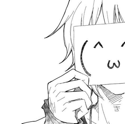 kawaii anime girl black and white