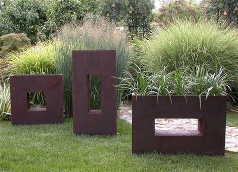 pot jardin design id 233 es cr 233 atives pour un jardin paysagiste unique design feria