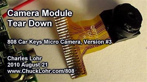 tear  camera module   car keys micro camera