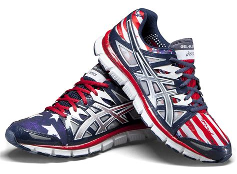 american running shoes asics gel blur 33 2 0 flag collection sole collector