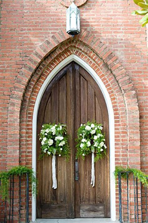 45 Breathtaking Church Wedding Decorations   Wedding