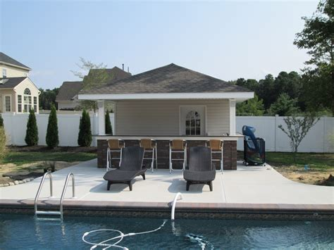 pool houses with bars tiki bars pool houses american sheds