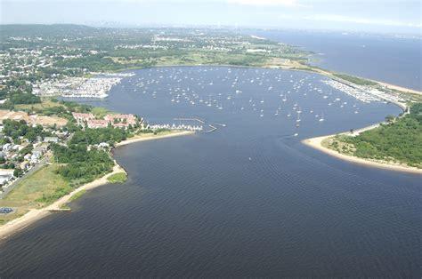 boat slip queens great kills harbor in new york ny united states harbor