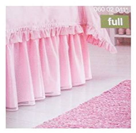 bed skirts full amazon com circo pink full ruffled bedskirt bed skirts