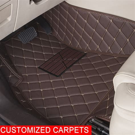 Customized Car Floor Mats by Custom Car Floor Mats Customized For Jeep Grand Wrangler Commander Compass Patriot 2 3