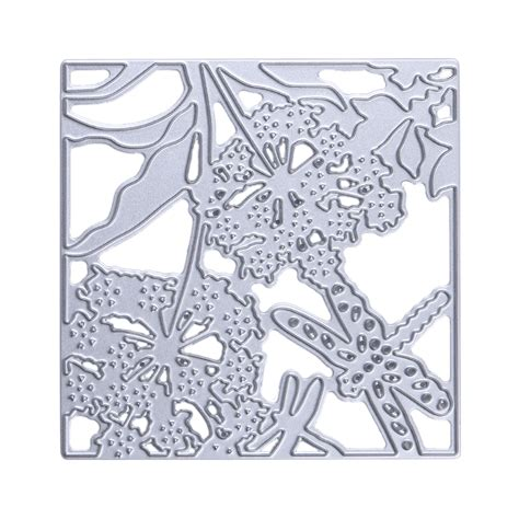embossing stencils for card 1pc flower dragonfly metal cutting dies stencils embossing