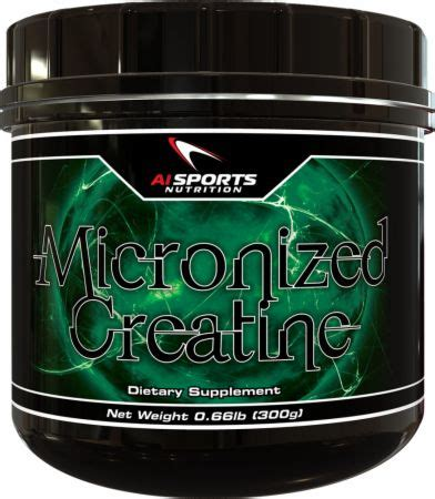 1 creatine in the world micronized creatine by ai sports nutrition at bodybuilding