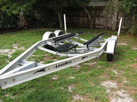 aluminum boats for sale nj 04 load rite 4200lb cap aluminum bunk trailer in nj the
