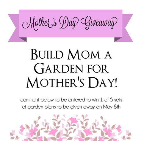 Mother S Day Giveaway - mother s day giveaway raised urban gardens