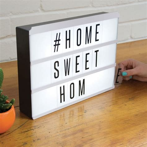 message board light up light up message box find me a gift