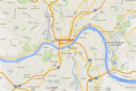 cincinnati ohio map usa cincinnati city in ohio world easy guides