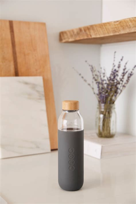 design milk water bottle soma launches a glass water bottle design milk