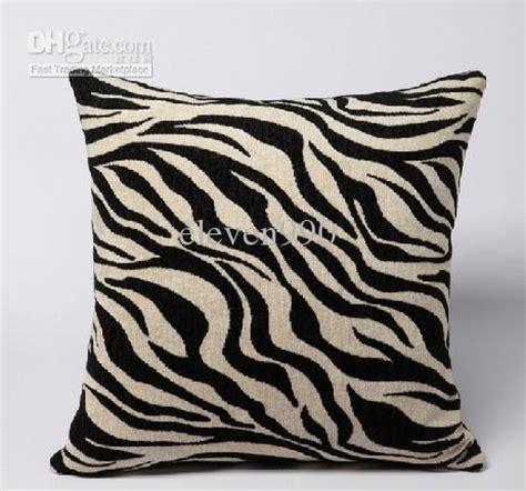 zebra pattern cushions 45cm x 45cm black white zebra pattern cushion cover