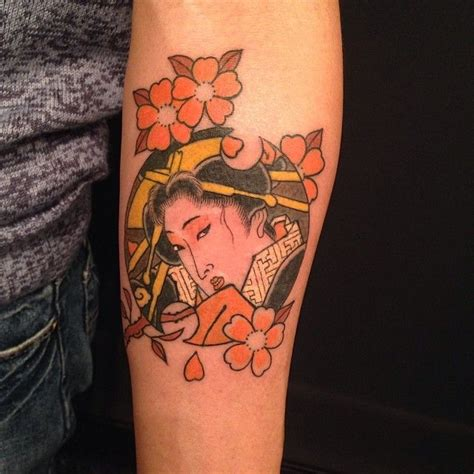 small geisha tattoo 1255 best images about japanese tattoos on