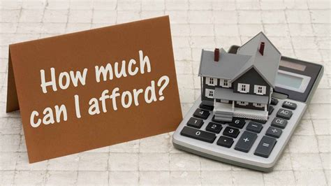 how much house can i afford home affordability calculator