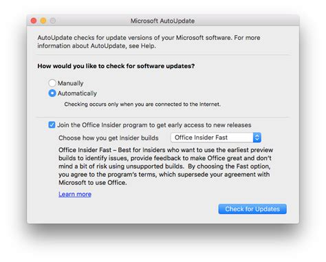 Office Insider What S The Deal With 64 Bit Office For Mac The Mac Observer