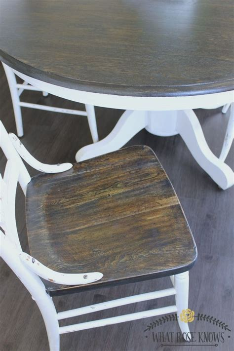 different ways to paint a table 25 best ideas about painted kitchen tables on pinterest