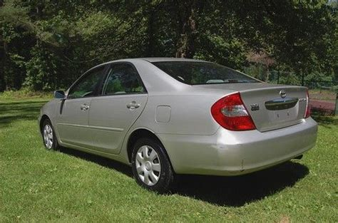 Toyota Camry 2004 Mpg Find Used Low Mileage 2004 Toyota Camry Le Sedan 4 Cyl