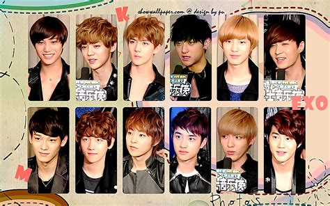 exo wallpaper with name exo is a charming boys wallpaper by bikyolovejae