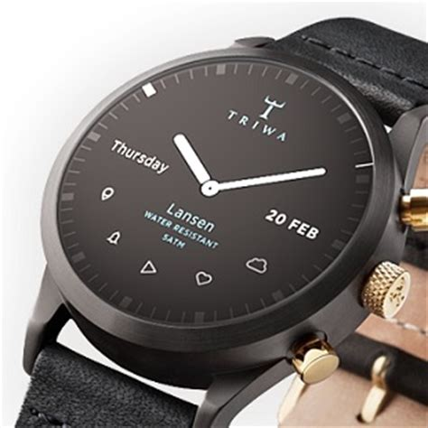 Smartwatch Triwa The Smartwatch Concept We Desperately Want To Be Real