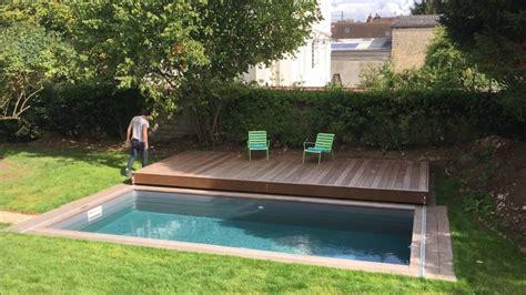 terrasse mobile de piscine  rolling deck de  de