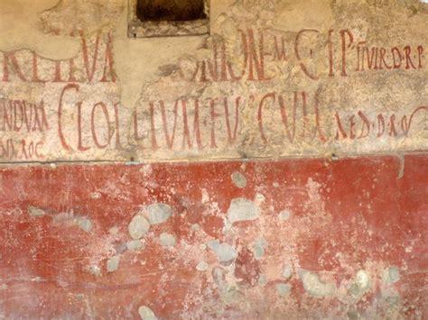 translated pompeii graffiti   awesome