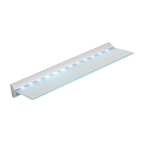 Led Light Shelf Glass by 17 Best Images About Led Shelf Lighting On