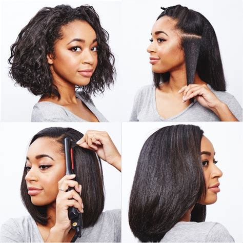 Dryer To Straighten Curly Hair how to straighten curly hair popsugar