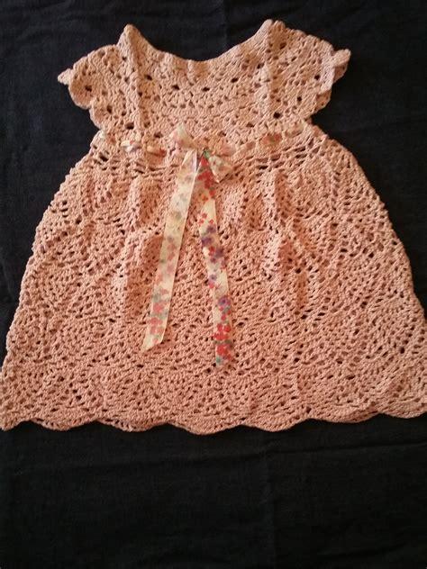 vestidos tejidos a crochet para bebes vestido bebe tejido en crochet