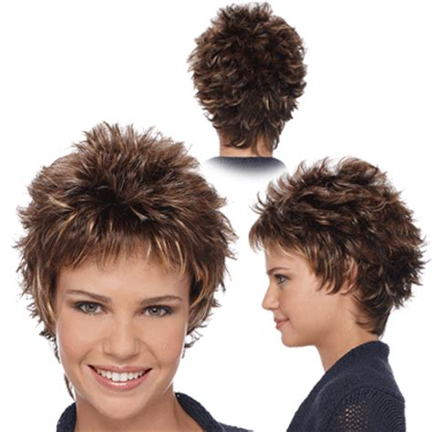 wigs for women over 50 spiky short spikey wigs for women over 50 short hairstyle 2013