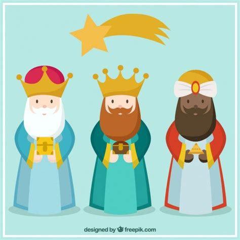 imagenes de los tres reyes magos con sus nombres descarga vectores gratuitos con los tres reyes magos