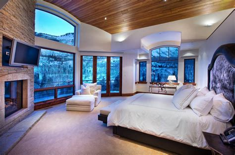 Dazzling bedrooms with landscape views home decor ideas
