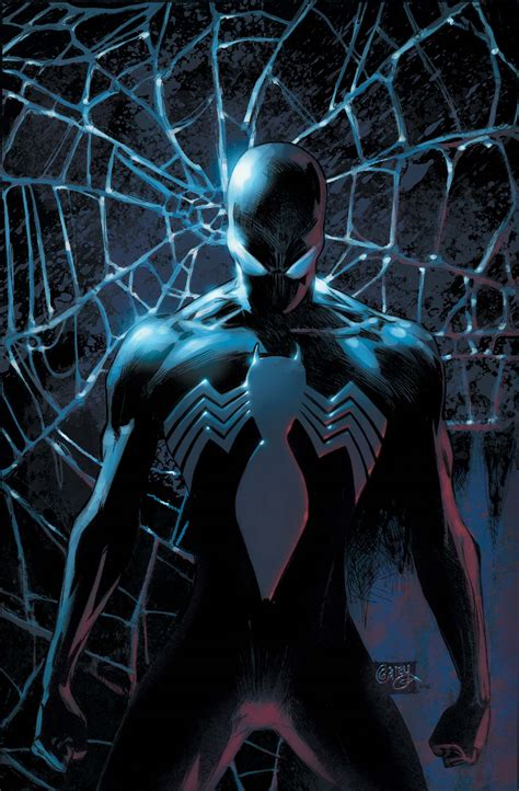 the in the black suit books spider man s black costume returns this february major