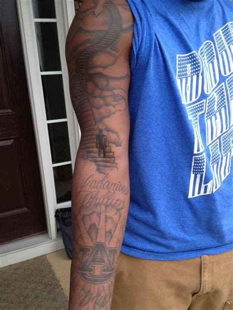 tattoo parlor auburn photo reuben foster has made additions to his auburn