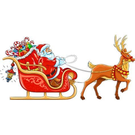 santa and sleigh best photos of santa claus sleigh and reindeer