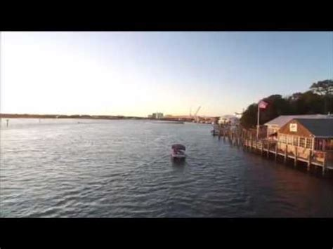 duffy boat rentals sunset beach sunset drone video virginia beach boat rentals youtube