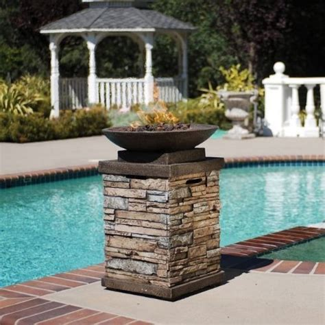 Bond Firepit Bond Newcastle Propane Gas Bowl With Cover 63172 The Pit Store