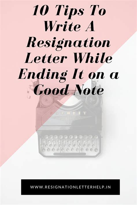 Tips On How To Write A Resignation Letter by The 25 Best Professional Resignation Letter Ideas On Resignation Letter
