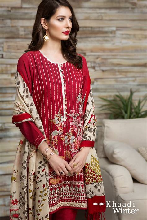 Khaadi Winter Collection With Shawl Pk Vogue