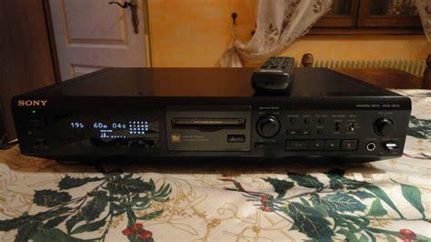 Format Audio Minidisc | sony mds je510 image 316928 audiofanzine