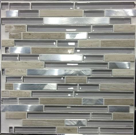 wall tiles kitchen backsplash silver streak aluminum mosaic tile grey marble glass backsplash bar wall tiles ebay