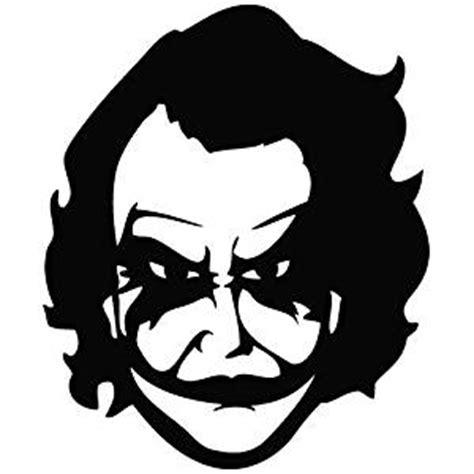 Bike Sticker Joker by Indiashopers Batman Joker Windows Sides