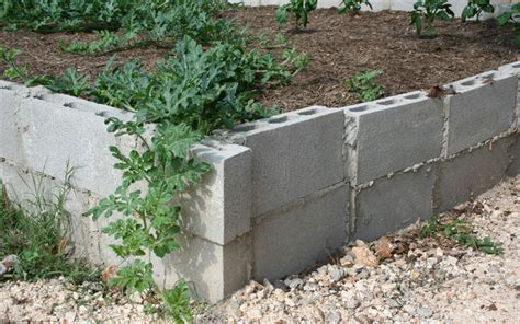 cinder block flower bed how to build a raised garden bed bob vila auto design tech