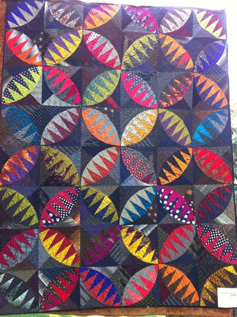 Silk Tie Quilts Patterns by Eclectic Pickle Made Entirely Of Mens Neck Ties And Silk