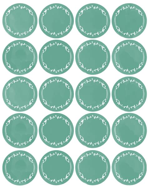 template for stickers free pantry labels fab n free