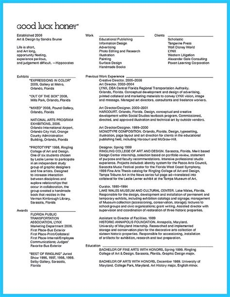 Artistic Director Sle Resume by 594 Best Resume Sles Images On
