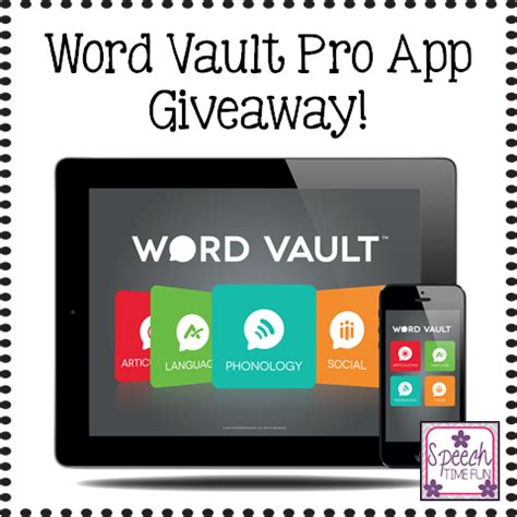 How Do You Spell Giveaway - word vault pro app update info giveaway