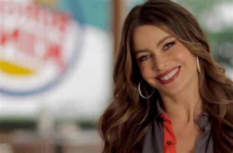 foodista sofia vergara stars   burger king commercial