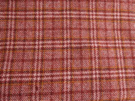 felted wool upholstery fabric red plaid felted wool fabric red with gold plaid by